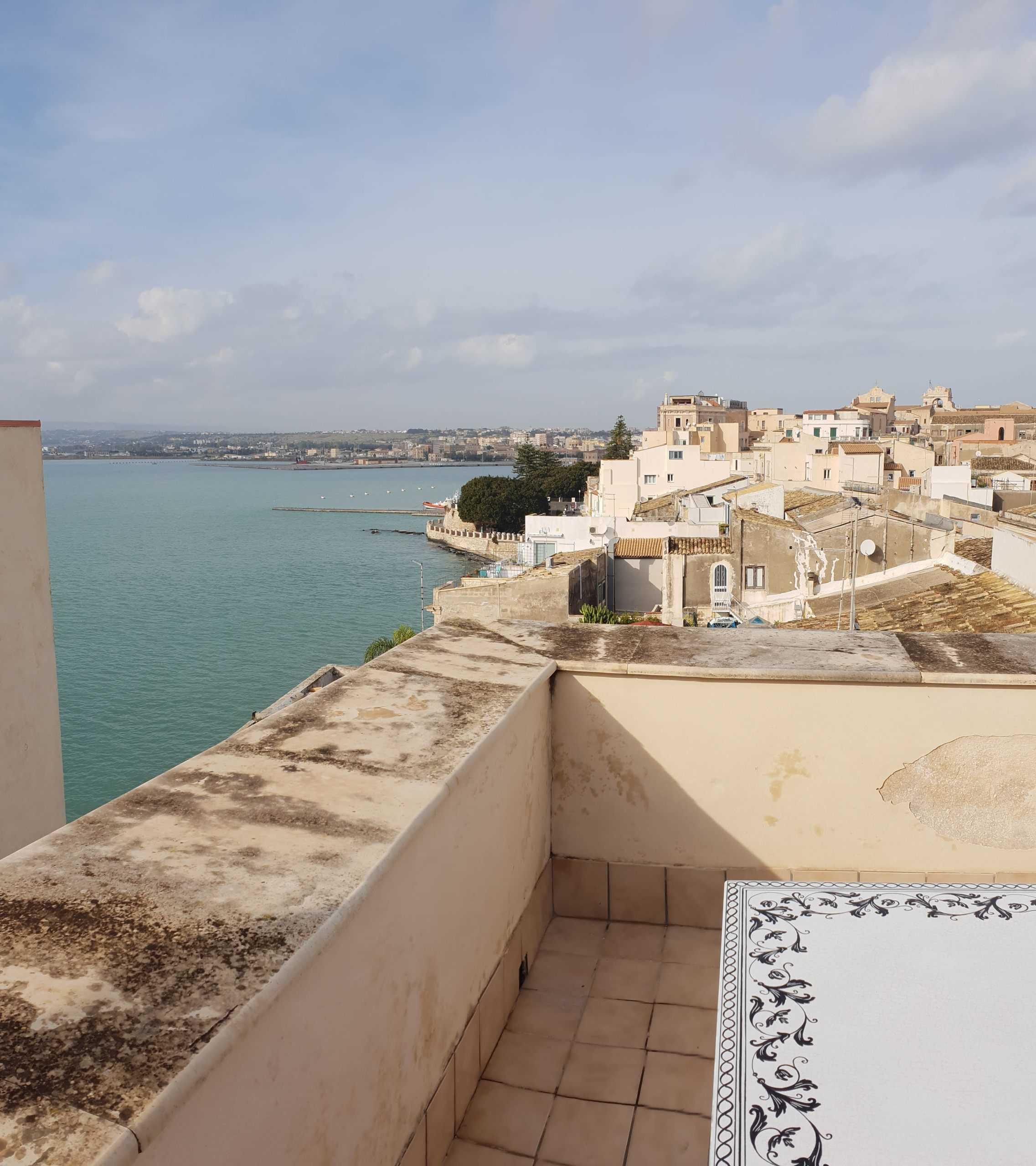 Ortigia Castello Maniace appartamento vista sul mare